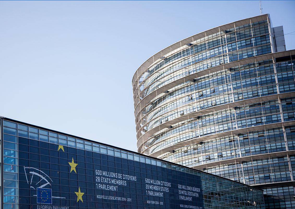 Summer season at the European Parliament in Strasbourg - LOW Building