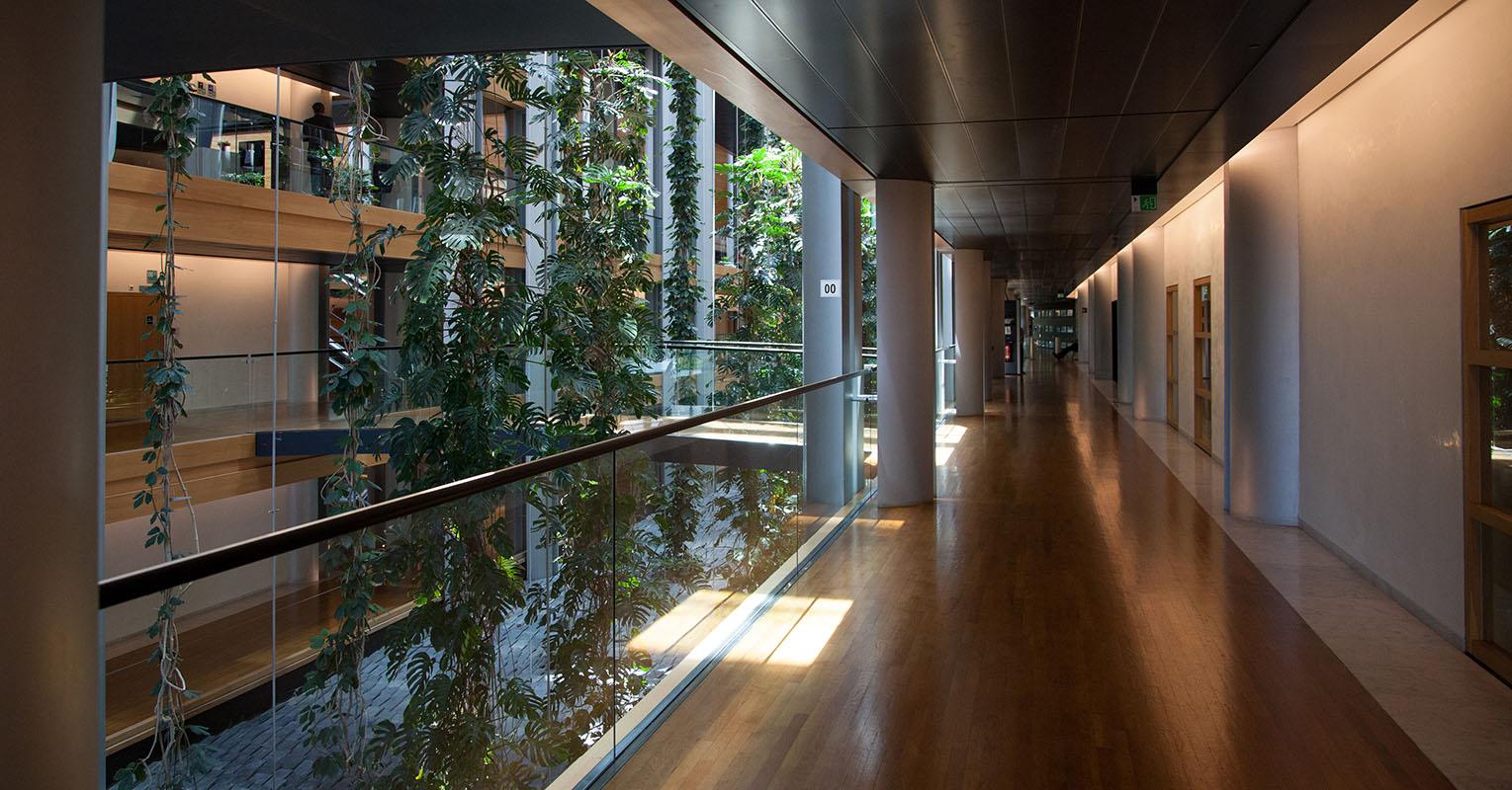Summer season at the European Parliament in Strasbourg - LOW corridors