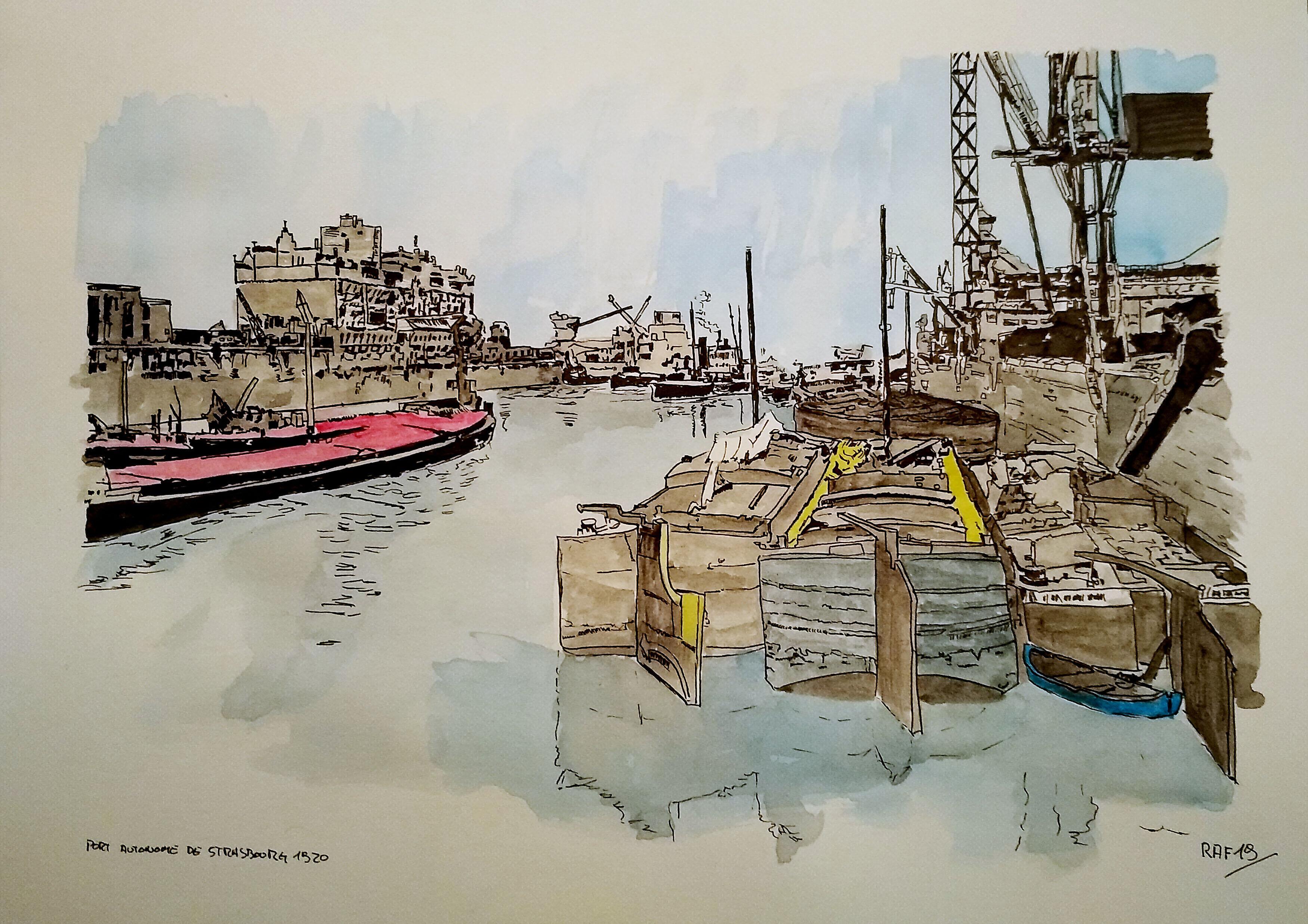 Stasbourg - port autonome