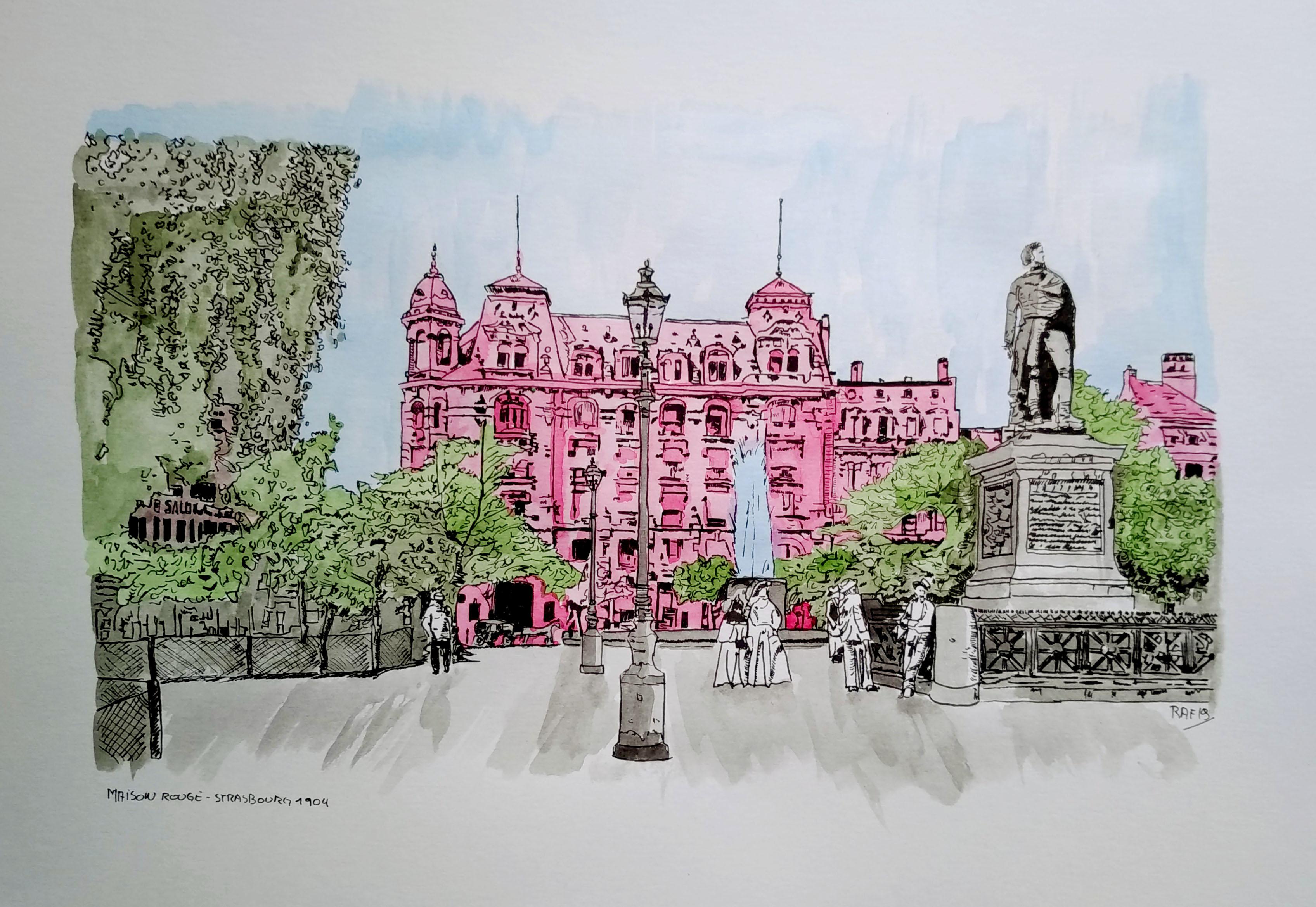 Strasbourg - place kléber - maison rouge